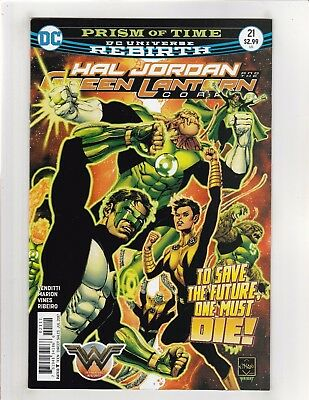 Hal Jordan and the Green Lantern Corps (2016) #21 NM- 9.2 Cover A DC Rebirth