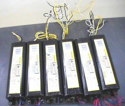 Lot of 6 Advance Transformer Mark III R-2S40-1-TP Rapid Start Ballast