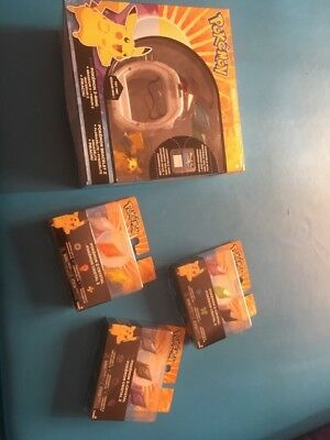 Pokemon Z-Ring and Z-Crystal Bundle - NEW In PACKAGE full set