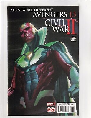 All-New All-Different Avengers (2016) #13 NM- 9.2 Marvel Comics Civil War II