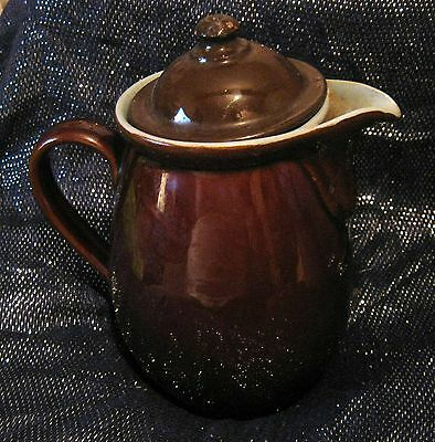 Lovely Denby coffee pot with blue interior 1½ pint volume