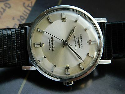 Vintage 1960's Longines Admiral 5 Star Grand Prize Automatic Watch