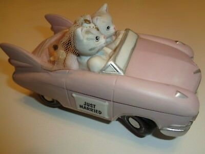 Vintage Kitty Cucumber, Cadillac (Schmid) 1989 Just Married, Music Box