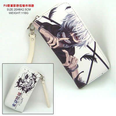 Hot Anime Tokyo Ghoul Cosplay PU Leather long Purse Wallet A