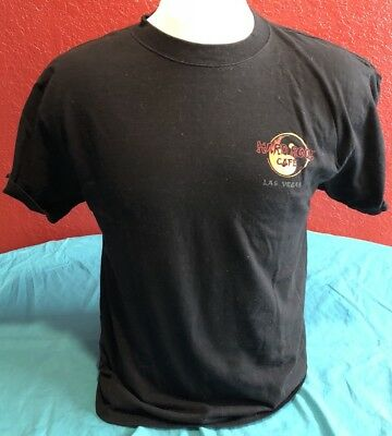 Hard Rock Cafe Las Vegas Black T Shirt Size Large L Dragon Yin Yang