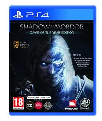 PS4-Middle-Earth: Shadow of Mordor - Game of the Year Edit (UK IMPORT)  GAME NEW