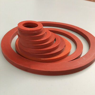 Select Size ID 95mm -100mm VMQ Silicone O-Ring Gaskets Washer 1mm Thick [DORL_A]