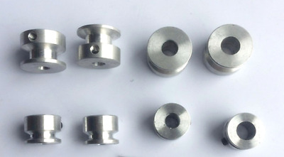 16-40mm Diameter V-Groove Pulley With Fixed Screw 4 to 16mm Bore Select [DORL_A]