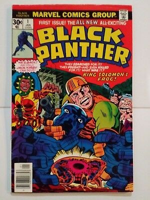 Black Panther #1 ( Jan. 1977) ...7.5+/-.. Higher Grade....very Nice...see Photos
