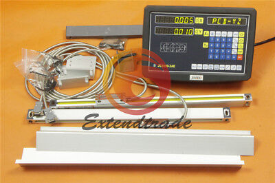 Digital Readout DRO kit Display Meter for Milling Lathe Machine Linear Scale New