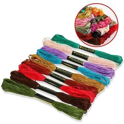 50/100/150 Colors Anchor Stranded Cotton Embroidery Thread Floss Skeins Nice Pop