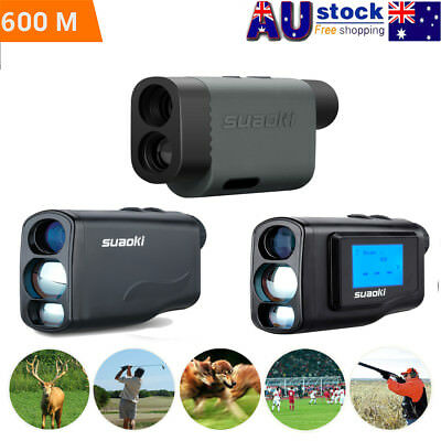 600m Golf Hunting Laser Range Finder Sports Meter Distance Speed Angle Measurer