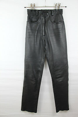 BELO Damen Lederhose Gr.38 Motorrad Hose women leather pants SALE