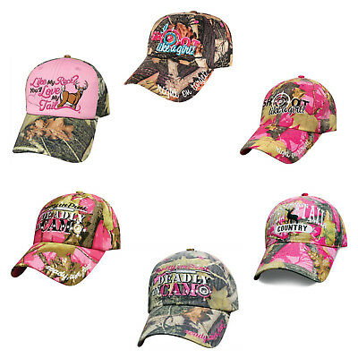 Cowgirl Womans Hardcore Cowgirl Ball Cap Hat in Black /& Pink H10