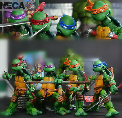 NECA TMNT TEENAGE MUTANT NINJA TURTLES Colorful HEADBAND Action Figures