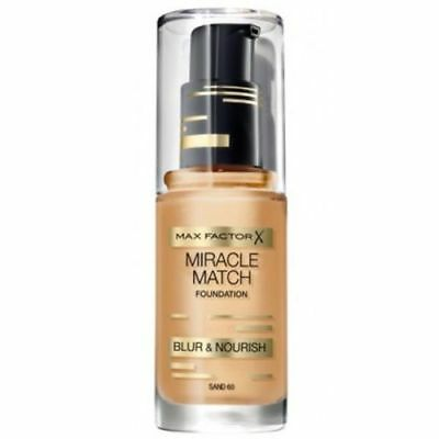 Max Factor Miracle Match Foundation BLUR & NOURISH 60 SAND