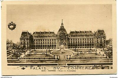 CPA-Carte postale- France Rennes - Palais du Commerce (CP1218)