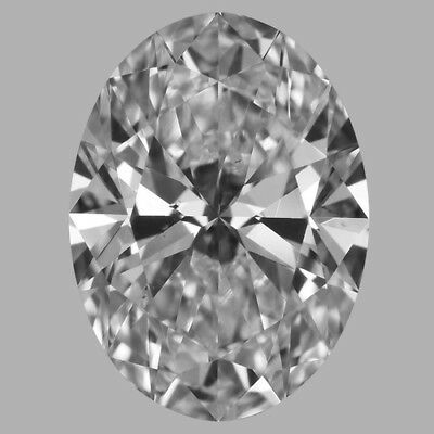 Charles and Colvard Forever One GHI Moissanite 6x4mm Oval With Certificate