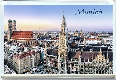 Munich - Bavaria Fridge Magnet