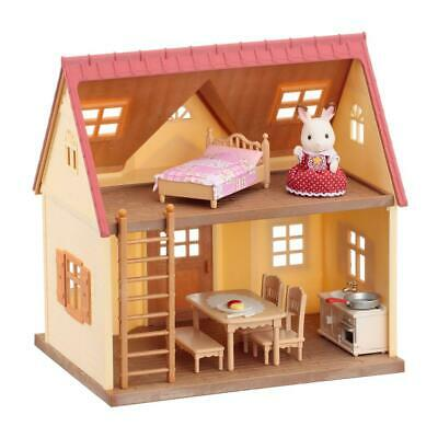Sylvanian Families Starter House Chocolate Bunny Daughter Two Stairs Figure 5242