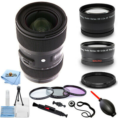 Sigma 18-35mm f/1.8 DC HSM Art Lens for Canon PRO BUNDLE BRAND NEW