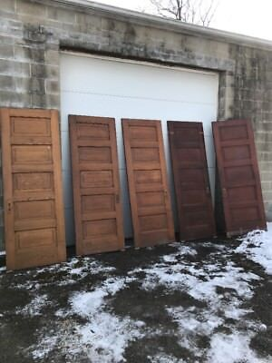 Mar 46 5 Available Interior Six Panel Passage Doors 30 X 84 Sold each