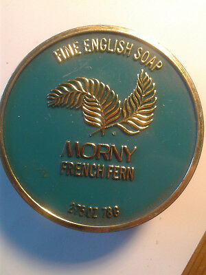 Morny French Farn Luxus-Duft-Seife Ovp. Vintage