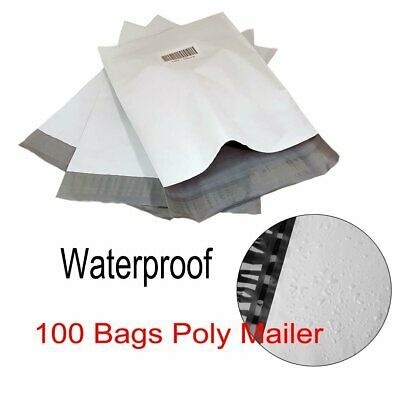 100 10x13 Poly Mailer Self Adhesive Shipping Bag Mailing Package Envelope 2.5Mil