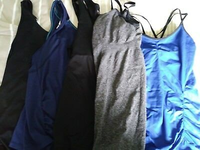 Mixed Lot of size Lg Maternity Fitness/workout Clothes : capris, pants & tops