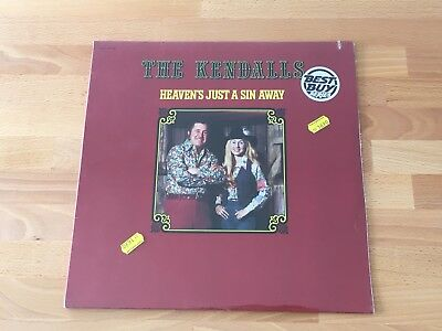 The Kendalls- Heaven's just a sin away - Ovation LP 1976