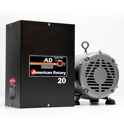 American Rotary AD20 | 20HP 240V Wall Mount AD Series Rotary Phase Converter