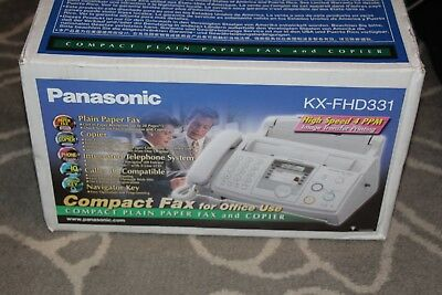 NEW Fax Machine Plain Paper Panasonic KX-FHD331 Never been opened/ in box