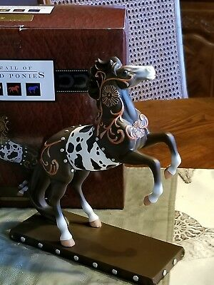 """1st edition trail of painted ponies """"Western Leather"""""""