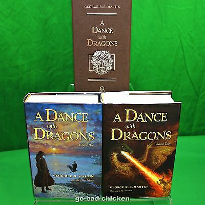 SIGNED A Dance With Dragons George R R Martin game of thrones Subterranean Press