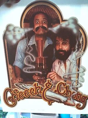 Vintage CHEECH & CHONG IRON-ON HEAT T-shirt Transfer - Extremely Rare - 1979