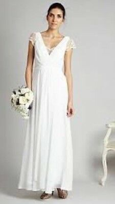 Grecian Wedding Dress.Grecian Lace Wedding Dress