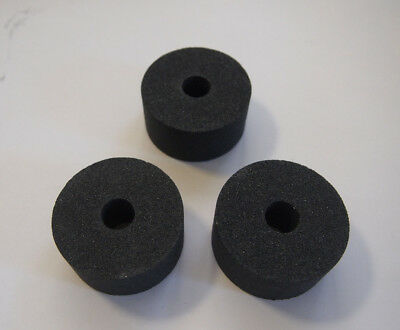 "HI LYFE Abrasives Grinding Wheels, 2"" x 1"" x 1/2"" C80 silicon carbide (3-Wheels)"