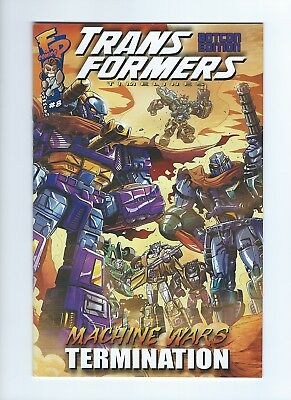 Transformers Timelines #8 BotCon 2013 Exclusive Machine Wars Termination Comic