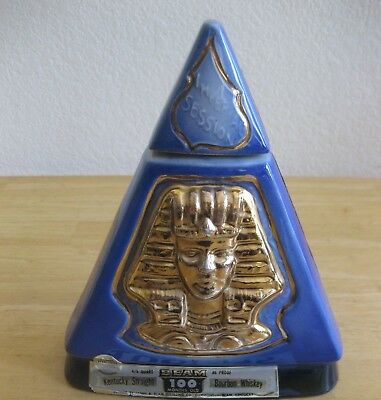 Collector Decanter, Jim Beam Whiskey, 1970, Imperial Session, Indiana