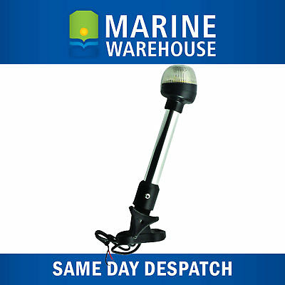 LED Pole Folding Anchor Light 600mm 12V W/ Marine Tinned Copper Wire 705199