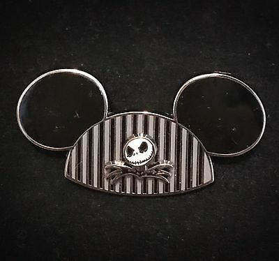 Jack Skellington Mickey Mouse Ear Hat NBC Nightmare Before Christmas Disney Pin