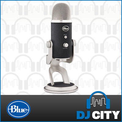 Blue Microphones Yeti Pro Studio USB / XLR Recording Podcast Microphone
