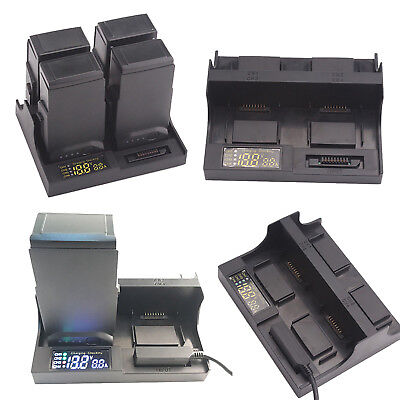 4 in1 Rapid Multi Battery Charger Battery Manager Charging Hub For DJI Mavic Air