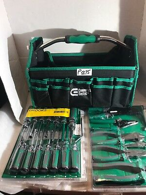 Commercial Electric Electrician's Tool Set 22 pc. Screwdriver Pliers w/ Tool Bag