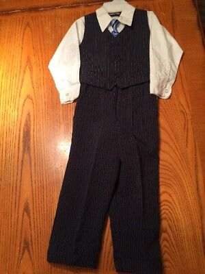 Happy Fella 3 T 4-piece dressy outfit perfect for Easter, wedding & more