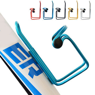 Mountain Bike Bicycle Cycling Mutil-color Metal Water Bottle Cup Cage Holder -on