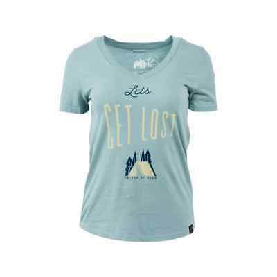 United By Blue Let's Get Lost T-Shirt Teal M