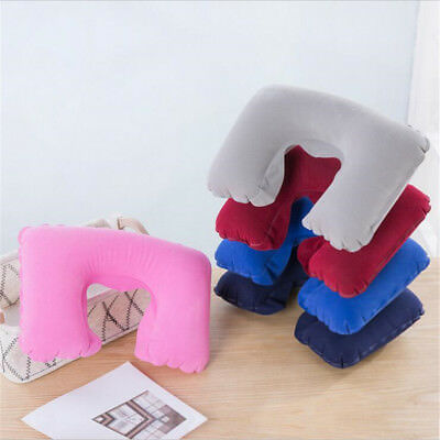 Outdoor Travel Air Pillow Beach Inflatable Cushion Camping Car Head U Rest