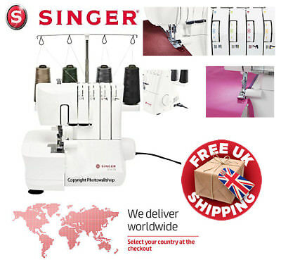 Singer Overlock S14-78 (1) Sewing Machine. New in Box 2 Year Warranty
