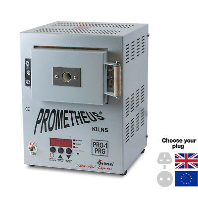Prometheus Mini Jeweller's Metal Clay Electric Kiln Pro-1 PRG WITH TIMER